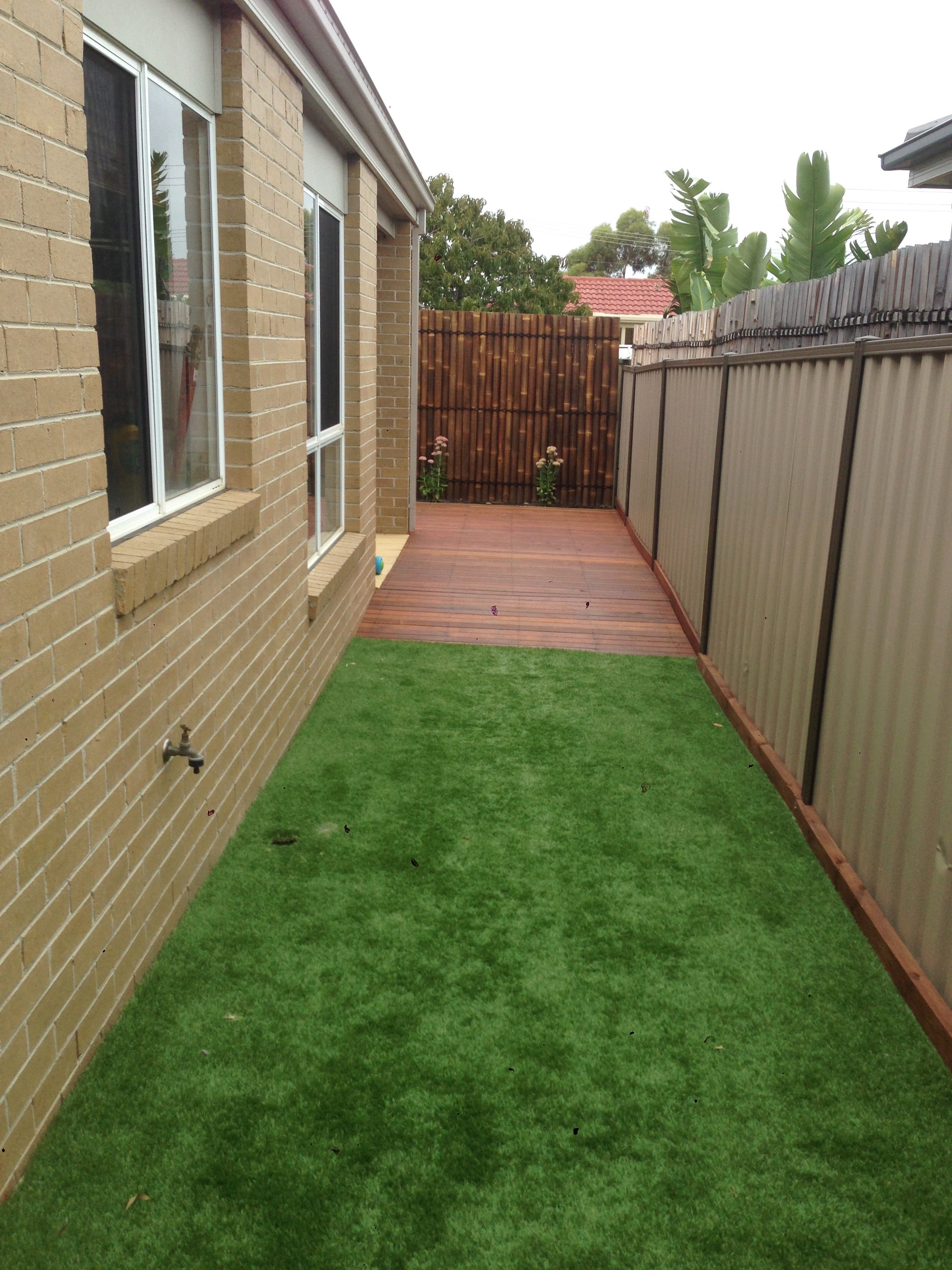 front landscape and decking (3)